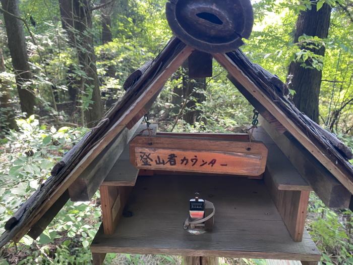 高川山初狩駅側入口カウンター