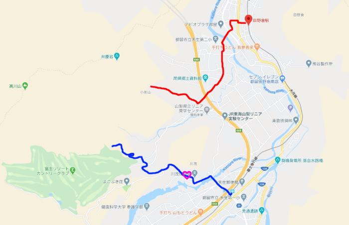 禾生駅マップ