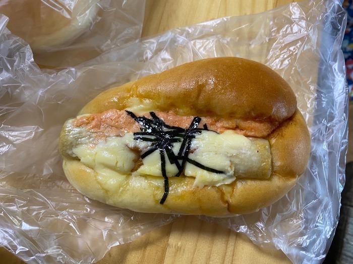 ちくわパン(明太子)
