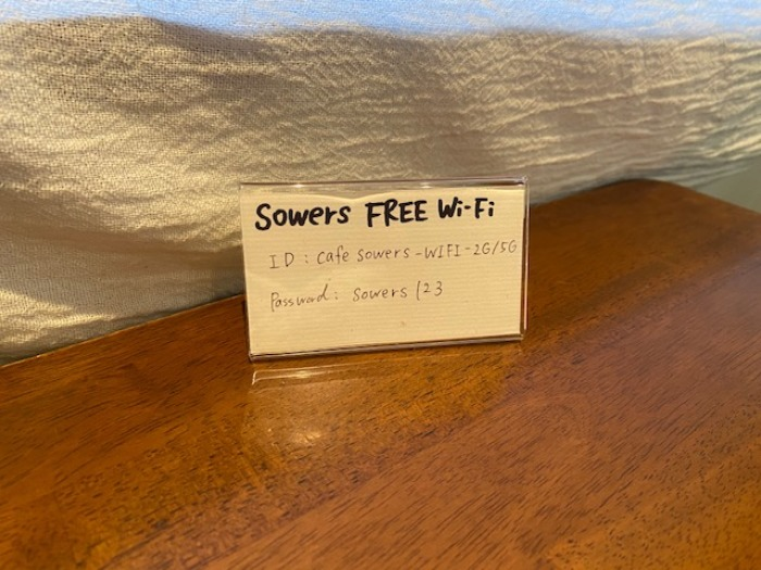 Sowers店内